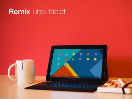Sur Kickstarter, la Remix se veut faire aussi grosse que la Surface