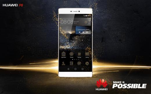 Huawei P8 officialisé, la photographie à l'honneur
