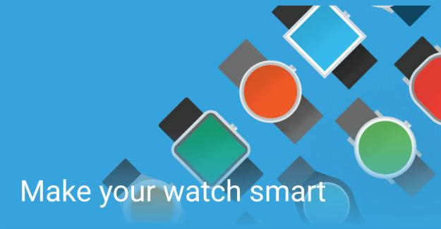 L'application compagnon Android Wear se met elle aussi à jour