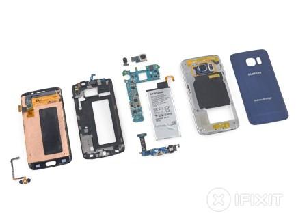 iFixit : démontage en règle du Samsung Galaxy S6 edge
