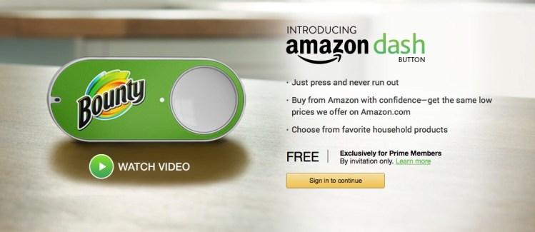 Amazon lance les Dash Buttons pour commander des produits d'un clic