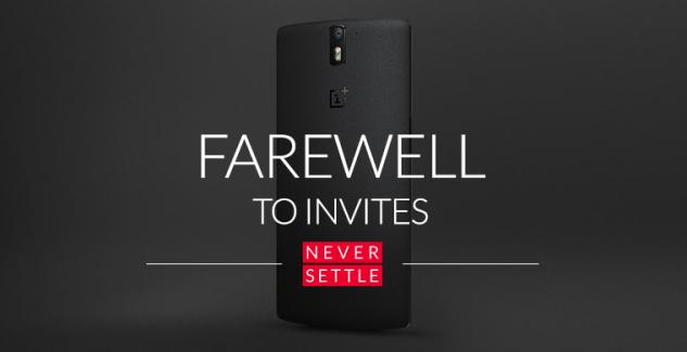 OnePlus One : le système d'invitations, c'est fini !