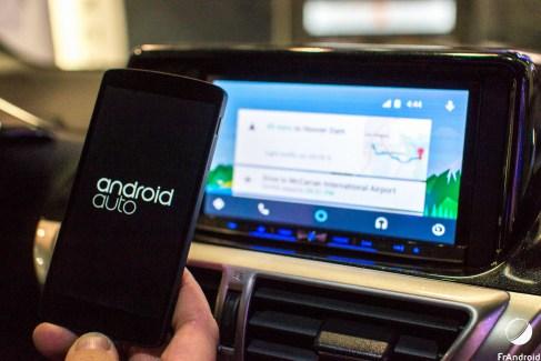 Android Auto arrive (enfin) dans les voitures
