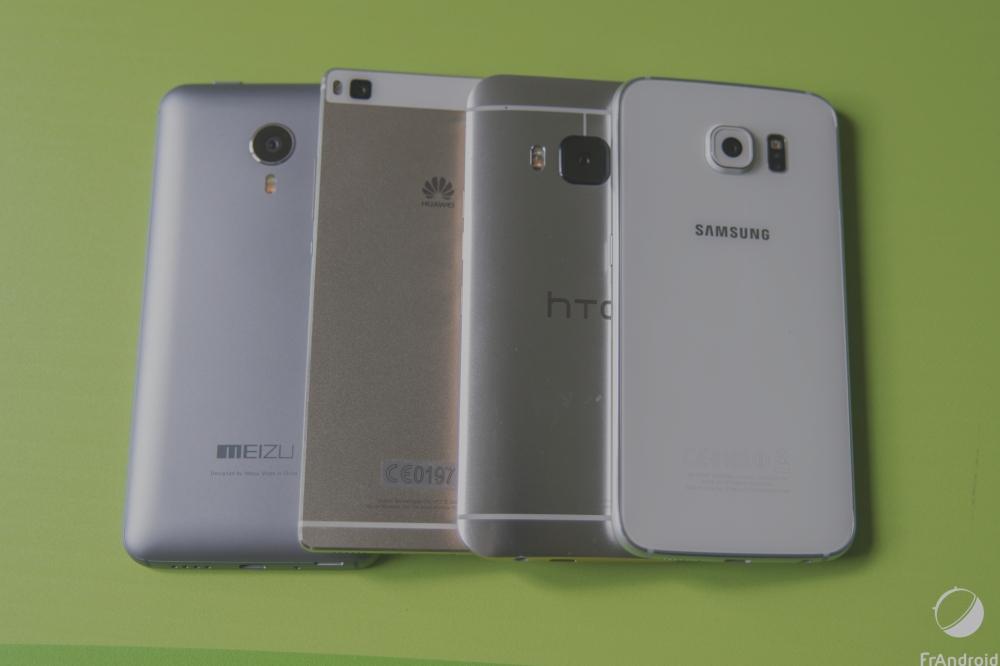 Comparatif photo : le Huawei P8 face à la concurrence