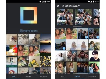 Instagram lance Layout, le collage (carré) est enfin disponible sur Android