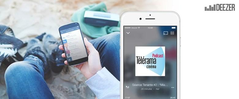 Deezer accueille (quelques) podcasts dans son catalogue