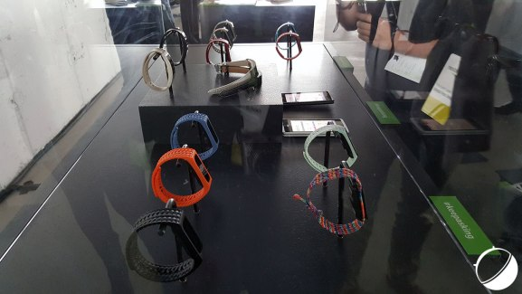 Acer dévoile un peu plus ses trois bracelets connectés, les Leap