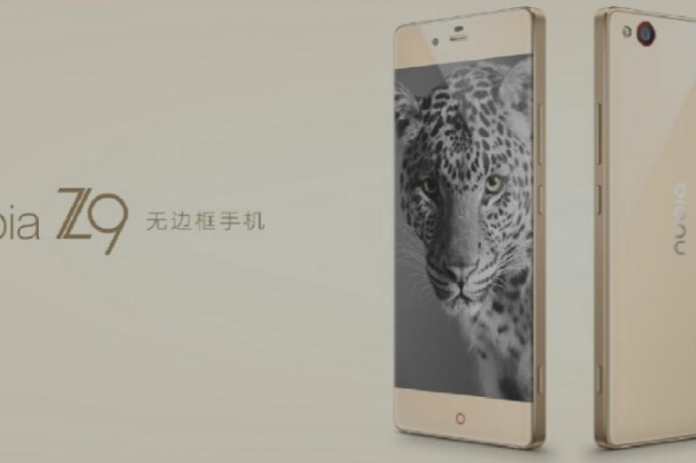 ZTE dévoile officiellement le NubiaZ9, un smartphone haut de gamme sans bordure d'écran