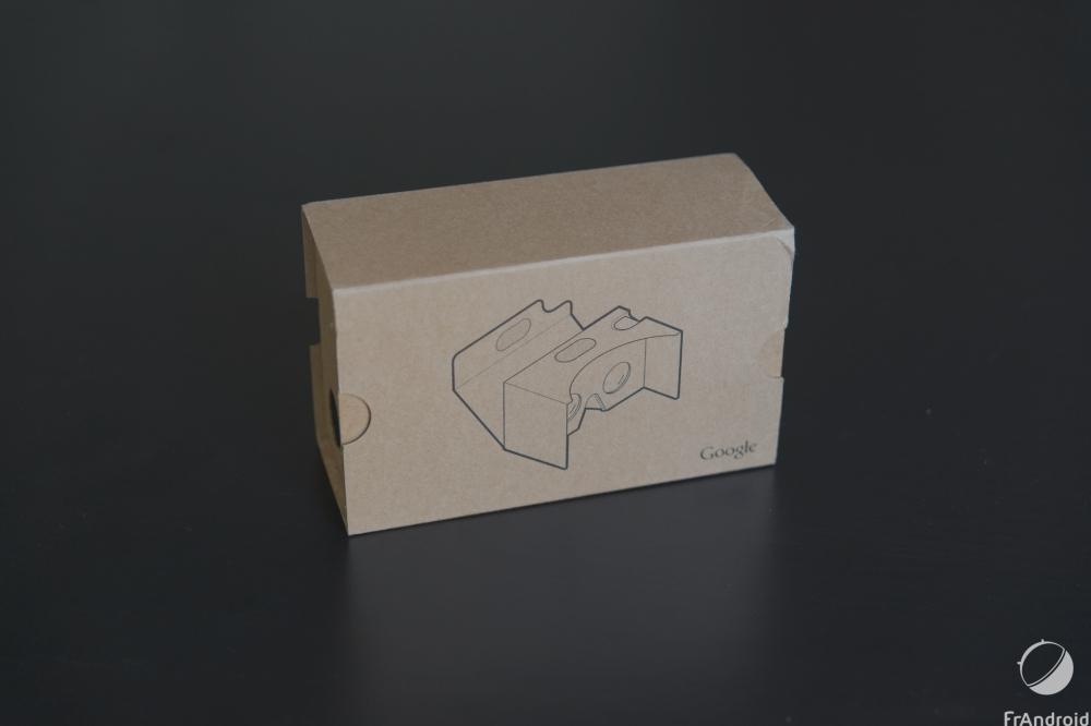 Google Cardboard 2015 : prise en main du casque de réalité virtuelle en carton
