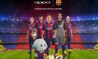 Oppo conclut un partenariat avec le FC Barcelone