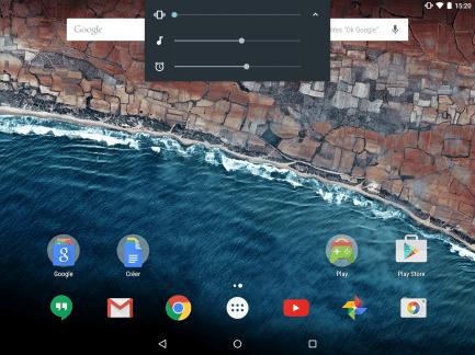Android M permet de régler facilement le son des notifications et autres alarmes
