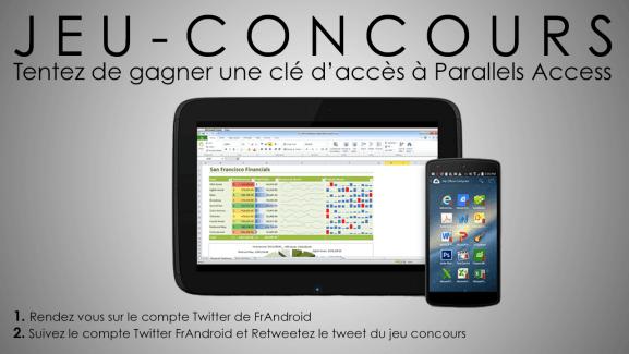 Jeu-concours Parallels Access : tentez de remporter cinq clés d'accès à l'application [MàJ : les gagnants !]