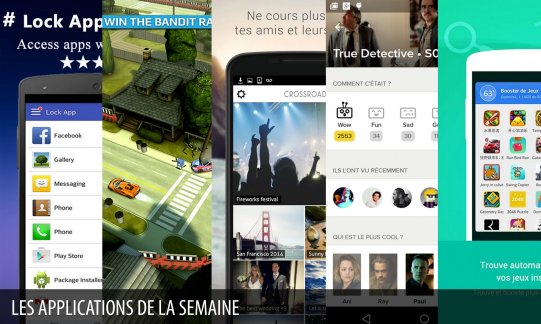 Les apps de la semaine : Super AppLock (privacy lock), Smash Bandits Racing,...
