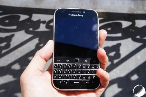 Prise en main du BlackBerry Classic : le Bold remis au goût du jour