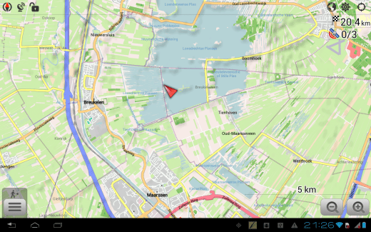 5 applications de navigation GPS hors-ligne sur Android