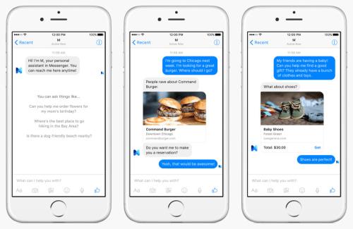 M : l'assistant de Facebook Messenger prend forme