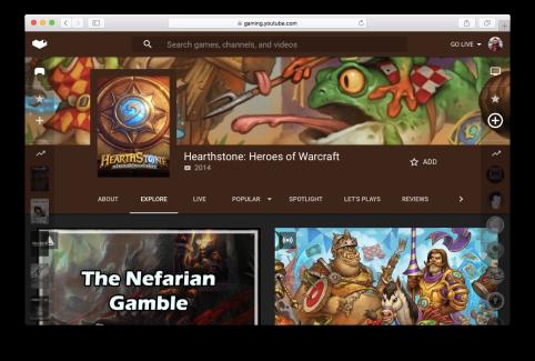 YouTube Gaming est à moitié lancé, avec de grosses ambitions