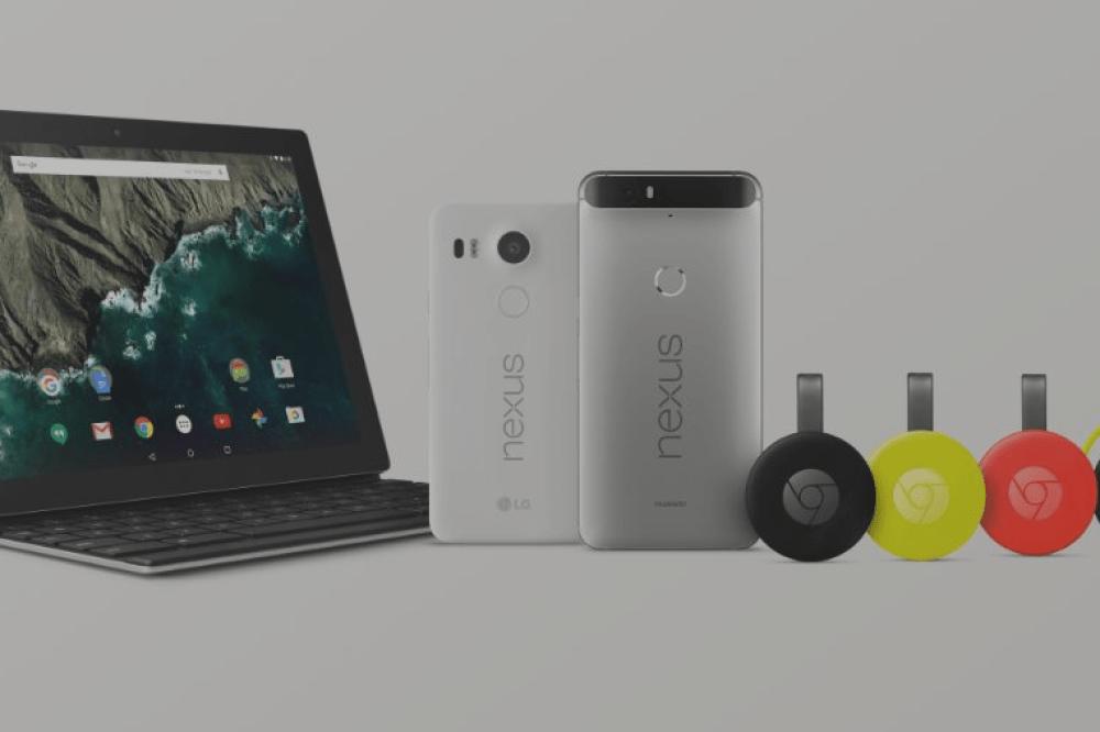 Nexus 6P, Nexus 5X, Chromecast, Pixel C… : toutes les annonces Google du 29 septembre