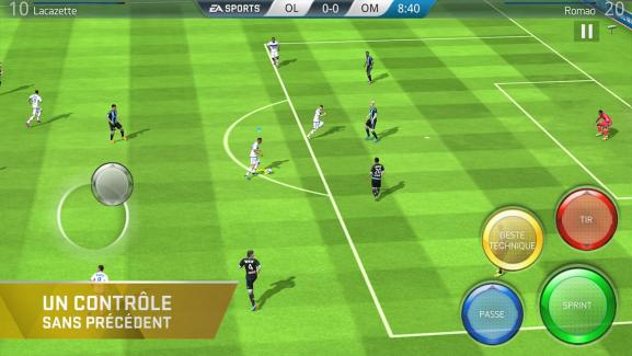 FIFA16 Ultimate Team siffle le coup d'envoi sur Android