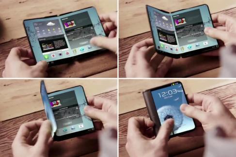 Samsung Project Valley : le smartphone à écran pliable pour janvier 2016 ?