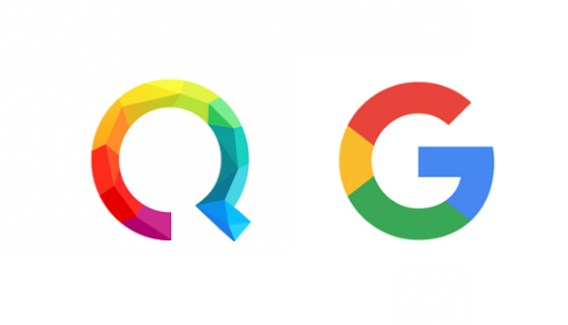 Le nouveau logo de Google n'est pas du tout du goût de Qwant