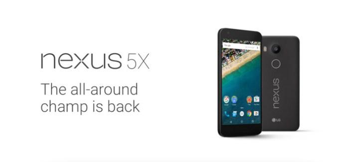 Nexus 5X : les 2 Go de RAM confirmés