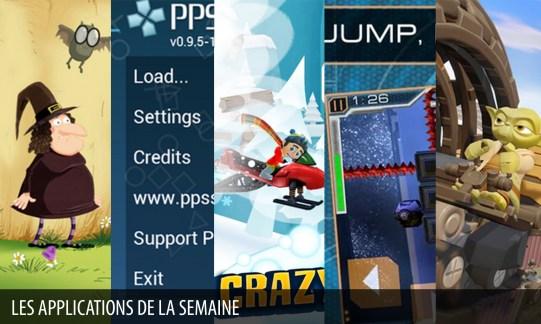 Les apps de la semaine : PPSSPP - PSP emulator, Disney Infinity 3.0 Toy Box…
