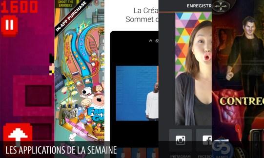 Les apps de la semaine : MiniPix, Boomerang d'Instagram, EyeEm...