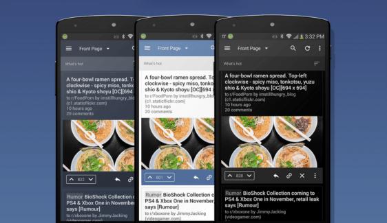 BaconReader 5.0 : le client Reddit passe au Material Design