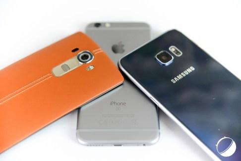 Comparatif photo : l'iPhone 6s face aux LG G4 et Samsung Galaxy S6 edge+