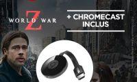 Bon plan : le Chromecast 2 est en promo à 27,99 euros avec le film World War Z offert