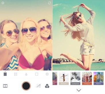 Retrica abandonne la publicité et les filtres photo payants