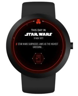 Star Wars : l'application officielle s'adapte aux montres Android Wear