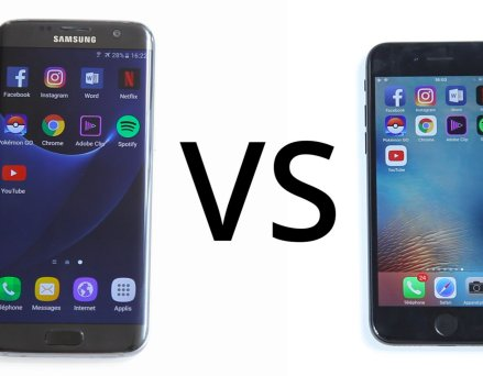 Apple iPhone 7 vs Samsung Galaxy S7 Edge : notre...