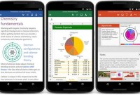 Microsoft lance Word, Excel et PowerPoint sur les mobiles Android