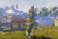 Le village de Zelda Ocarina of Time refait avec l'Unreal Engine 4