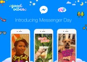 Facebook copie Snapchat, épisode 484 929 : Messenger Day, les stories dans Messenger