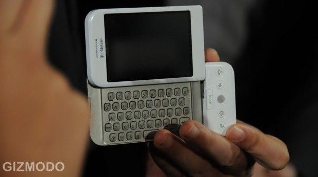 Des photos du T-Mobile G1 lors de la conférence HTC