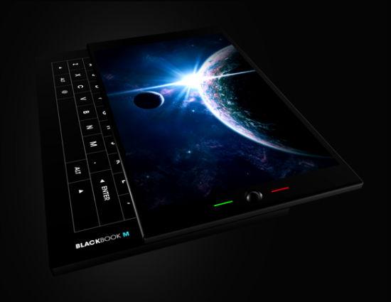 Concept de PDAphone design sous Android : le Blackbook M