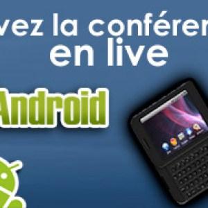 Suivez la conférence de HTC en live-blogging !