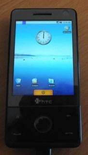 Tutorial : Installer Android sur HTC Touch Pro et HTC Touch Diamond