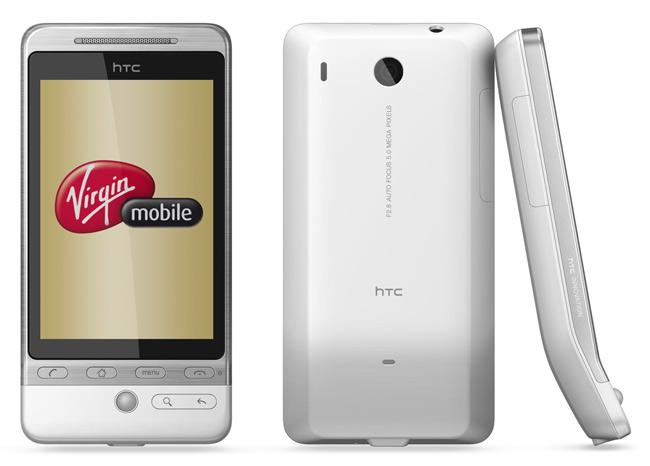 Virgin Mobile met en vente 300 exemplaires du HTC Hero