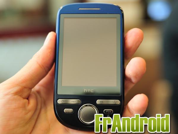 Le HTC Click sous Android est officiel et le Hero rougi