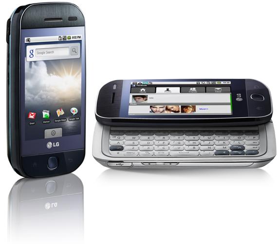 Le LG Eve GW620 sous Android officialisé