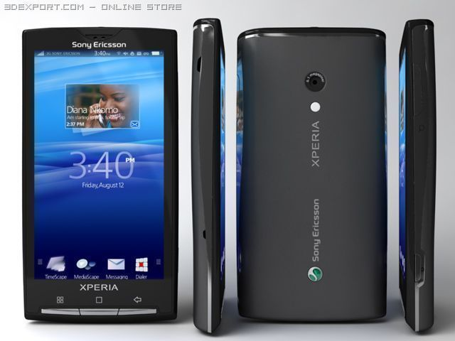 Nouvelles images du Sony Ericsson XPERIA Rachael