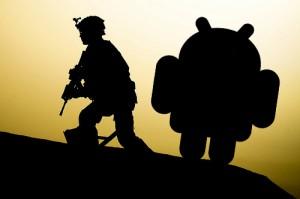 Android s'enrôle dans l'armée