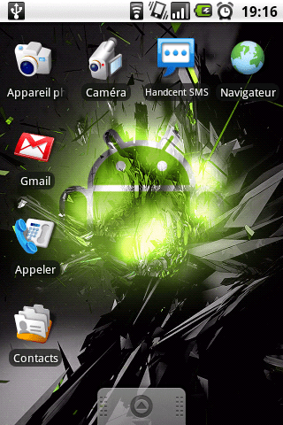 Samsung Galaxy : ROM Galaxo 1.1 (light) disponible !