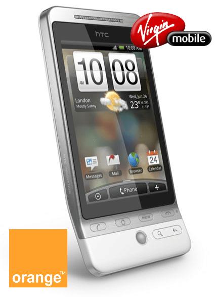 HTC Hero Orange sur Virgin Mobile ?