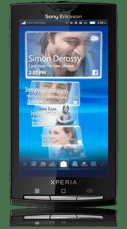 Officiel : le Sony Ericsson Xperia 10 sera disponible le 10/02/10 en UK