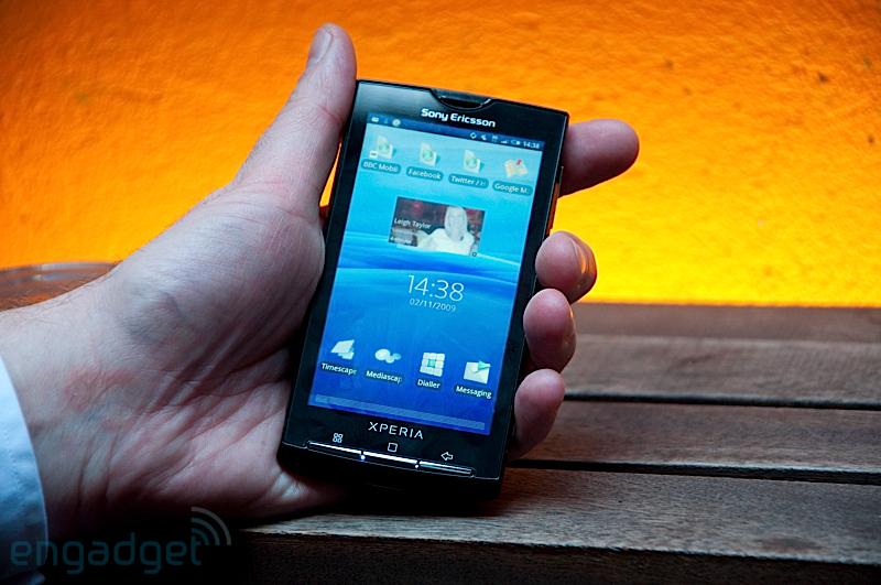 Le Sony Ericsson XPERIA X10 avec interface Rachael annoncé !